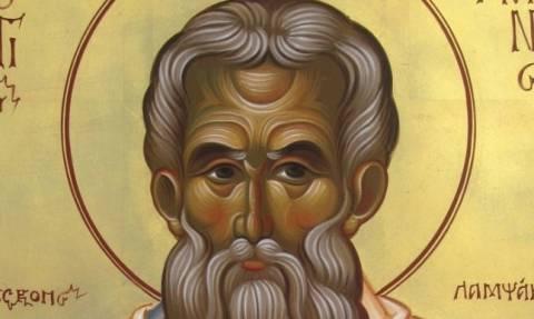 Την Δευτέρα Ιερό Λείψανο του Αγίου Παρθενίου, Προστάτου των καρκινοπαθών στο Βόλο