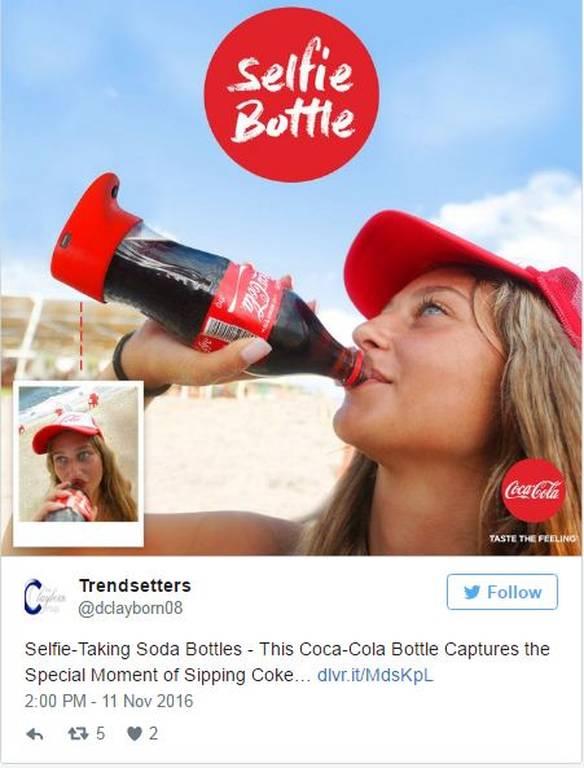 Απίστευτο: Δεν φαντάζεστε τι μπορεί να κάνει το νέο μπουκάλι της Coca Cola! (photo)