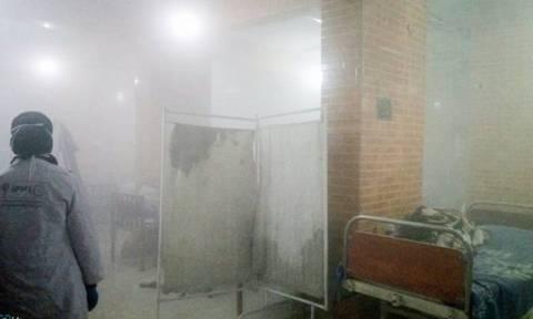 Φρίκη στο Χαλέπι: Βομβάρδισαν νοσοκομείο ενώ φρόντιζε παιδιά - θύματα χημικής επίθεσης