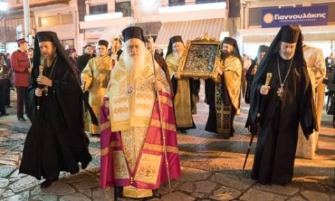 Στην Βέροια η Εικόνα της Παναγίας Παναχράντου και η τιμία Κάρα του Αγ. Παντελεήμονα