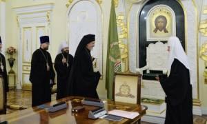 Συνάντηση Μητροπολίτη Γαλλίας με τον Πατριάρχη Μόσχας