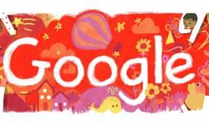 Παγκόσμια Ημέρα για τα Δικαιώματα του Παιδιού: Η Google τιμά με doodle τα παιδιά