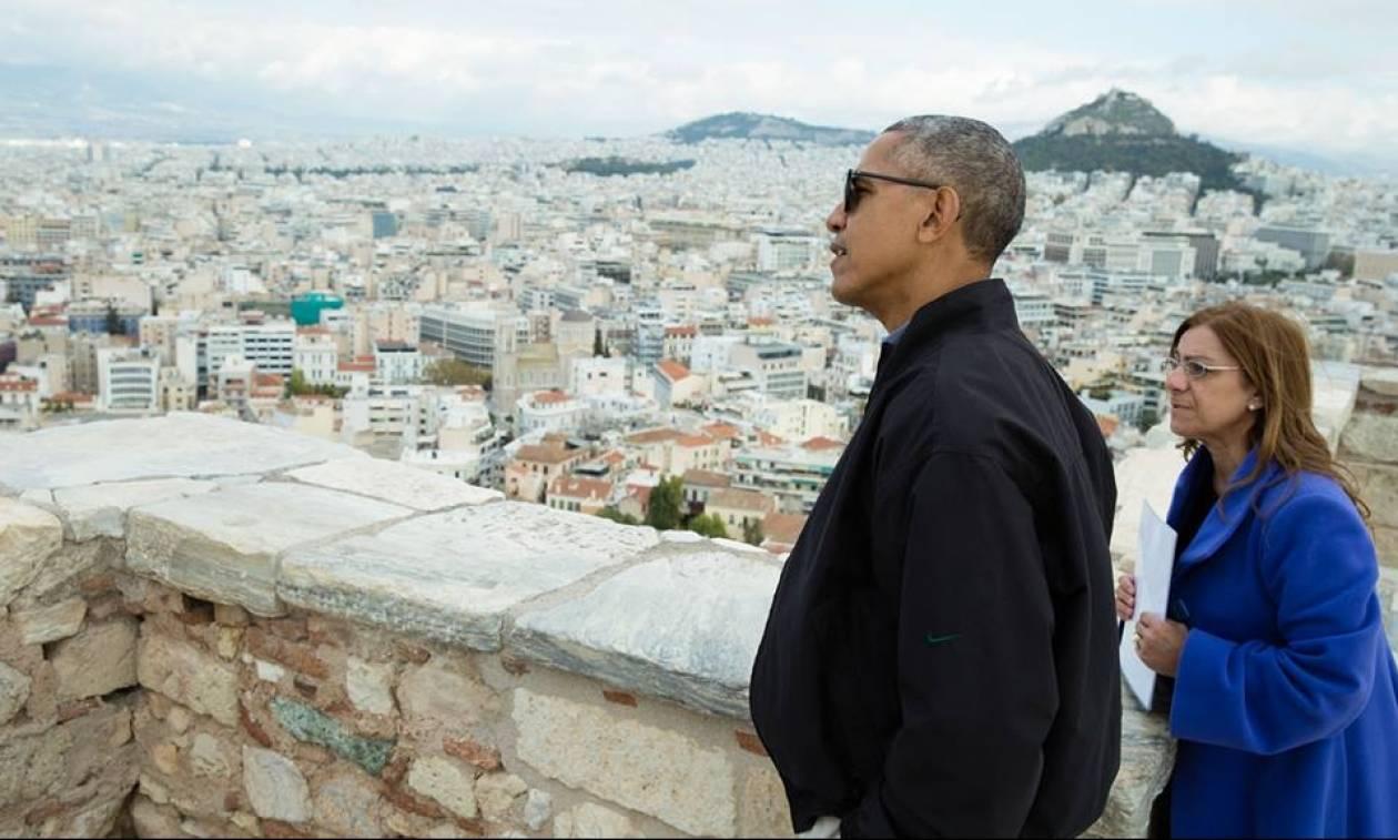 Η απίστευτη επιθυμία του Ομπάμα μετά την επίσκεψη του στην Ακρόπολη