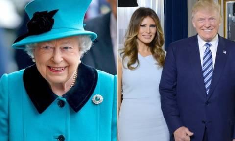 Βρετανία: Επίσημη πρόσκληση της Βασίλισσας Ελισάβετ στον Ντόναλντ Τραμπ