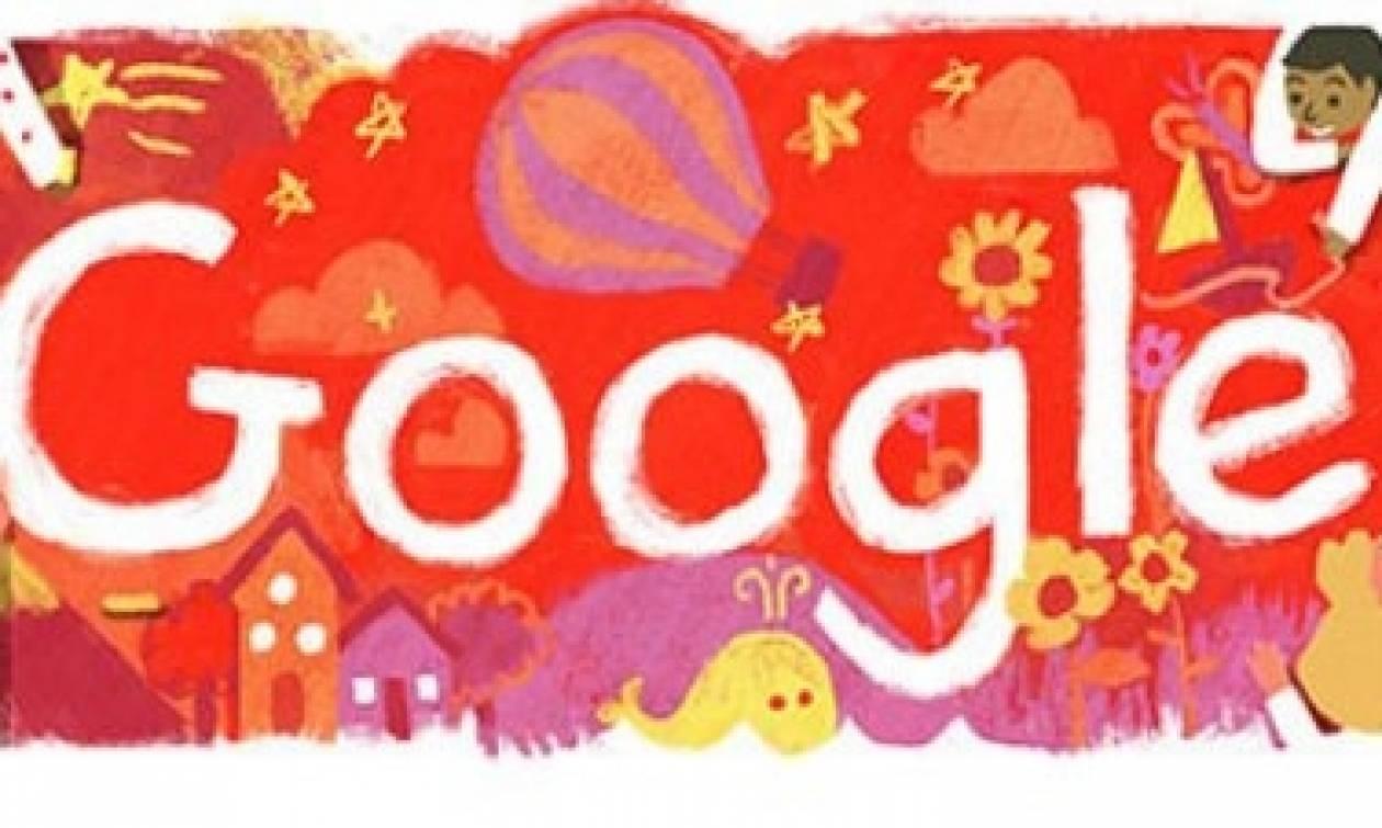 Ημέρα του παιδιού 2016: Αφιέρωμα της Google με Doodle για τα δικαιώματα των παιδιών