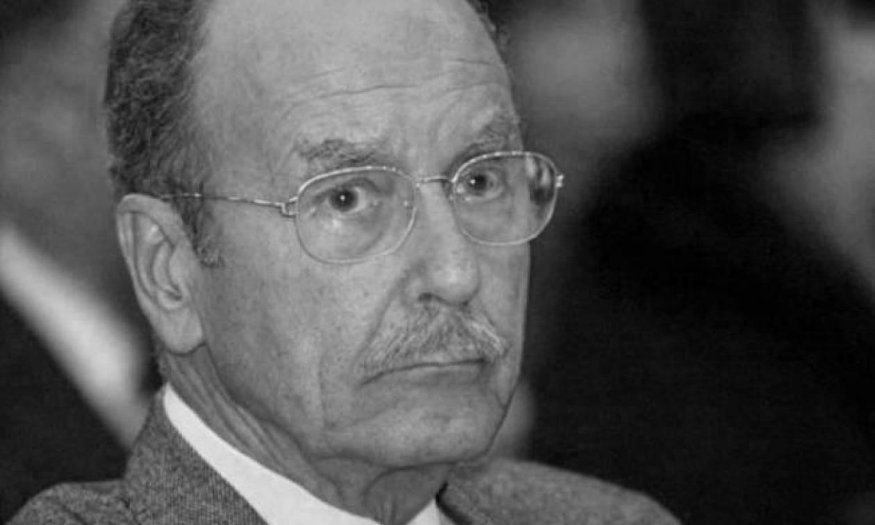 «Έφυγε» ο πρώην Πρόεδρος της Ελληνικής Δημοκρατίας Κωστής Στεφανόπουλος