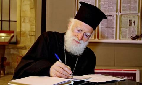 Αρχιεπίσκοπος Κρήτης Ειρηναίος: Για προληπτικούς λόγους η νοσηλεία του - Τί αναφέρει ανακοινωθέν