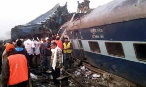 Τραγωδία στην Ινδία: 146 οι νεκροί από το σιδηροδρομικό δυστύχημα (pics+vids)