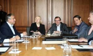 Κυπριακό: Στο «φως» της δημοσιότητας χάρτης για τις διαπραγματεύσεις (photo)