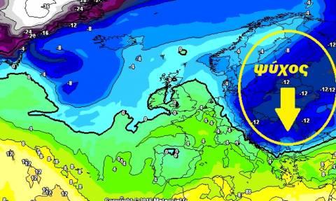 Ερχεται μεγάλος χιονιάς, πιθανότητα για χιόνια και στην Αθήνα!
