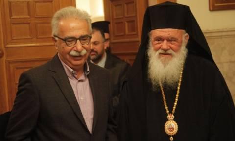 Τα Θρησκευτικά στο επίκεντρο της πρώτης συνάντησης Ιερώνυμου – Γαβρόγλου