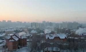 Απίστευτο κύμα ψύχους σαρώνει το Καζακστάν!