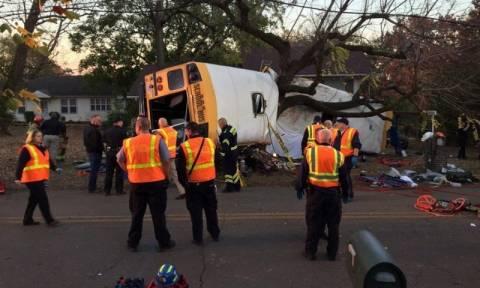 ΗΠΑ: Τραγωδία με σχολικό λεωφορείο - Νεκρά μικρά παιδιά