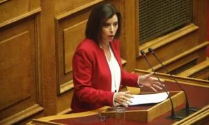 Την άρση της βουλευτικής της ασυλίας  ζητά η Ασημακοπούλου