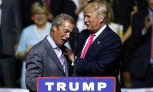 Ο Τραμπ πρότεινε τον Φάρατζ για πρέσβη της Βρετανίας – Δείτε τι απάντησε η Ντάουνινγκ Στριτ