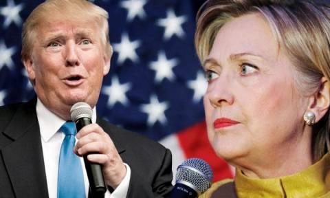 ΗΠΑ: Άλλαξε γνώμη ο Τραμπ - Δεν θα συνεχίσει την έρευνα για τα emails της Χίλαρι