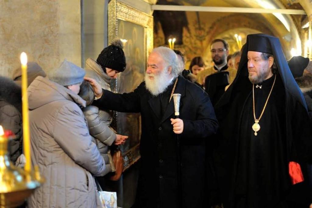 Συνάντηση του Πατριάρχη Αλεξανδρείας με τον Βλαντιμίρ Πούτιν