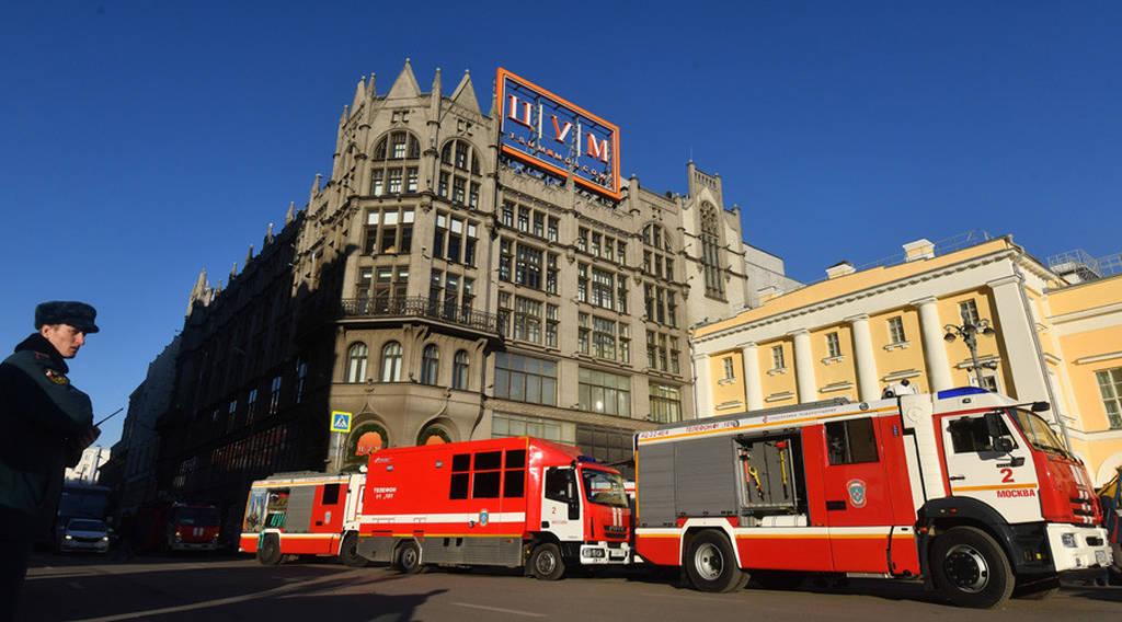 Πανικός από μεγάλη πυρκαγιά σε εμπορικό κέντρο στη Μόσχα - Απομάκρυνση χιλιάδων ανθρώπων (Vids)