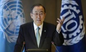 Ο Ειντε ενημερώνει Μπαν για συνομιλίες στο Μοντ Πελεράν, δήλωσε ο εκπρόσωπος του ΓΓ του ΟΗΕ