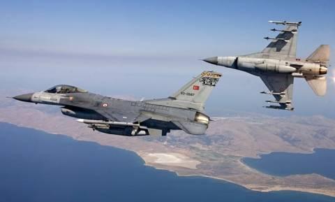 «Σουρωτήρι» ξανά το Αιγαίο από τουρκικά αεροσκάφη ηλεκτρονικού πολέμου και ελικόπτερα