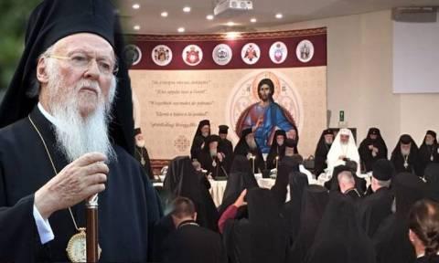 Οικ. Πατριάρχης για Σύνοδο Κρήτης: Αρχιερείς, κληρικοί,μοναχοί, να αναλογισθούμε τις ευθύνες μας