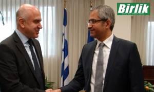 Ο Τούρκος πρόξενος στον νέο περιφερειάρχη Αν. Μακεδονίας & Θράκης