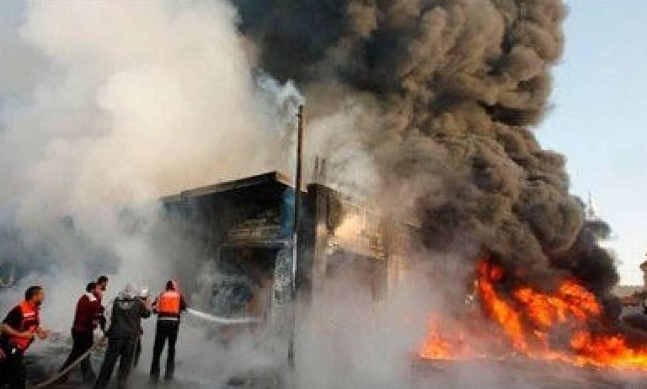 Μακελειό στη Βαγδάτη: Τουλάχιστον 100 νεκροί από έκρηξη παγιδευμένου οχήματος (pics)