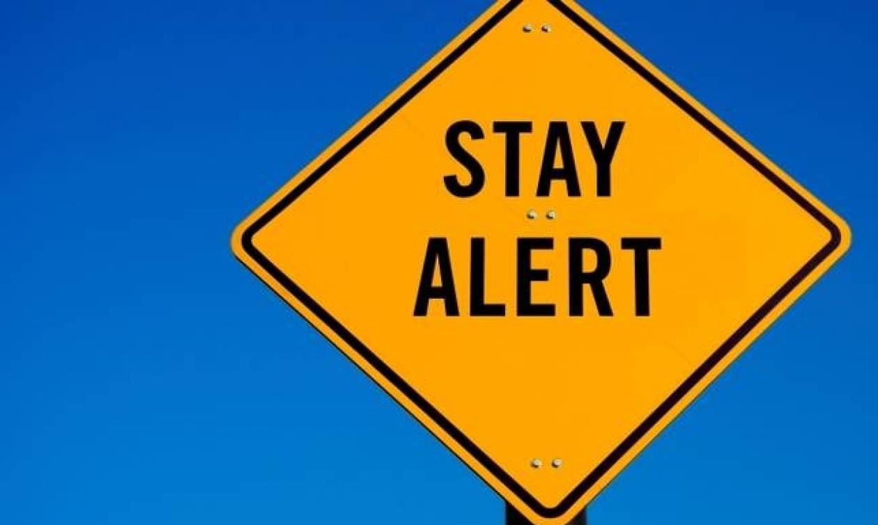 Η Γενική Γραμματεία Πολιτικής Προστασίας προειδοποιεί τους πολίτες: «Προσέξτε τις επόμενες ώρες»