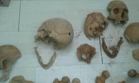Θρίλερ με τον ανθρώπινο σκελετό που βρέθηκε στα Άνω Λιόσια - Αποκλειστικές φωτογραφίες