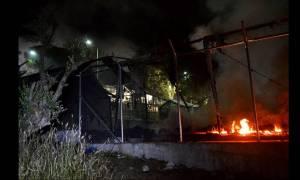 Μυτιλήνη: Μάχη με το χρόνο για τον καθαρισμό του καταυλισμού της Μόριας