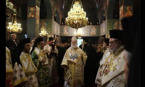 Πατριαρχική Θεία Λειτουργία στο Μετόχι του Πατριαρχείου Αλεξανδρείας στην Αθήνα (video+pics)