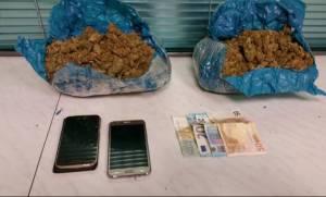 Ηράκλειο: Δύο συλλήψεις για 2 κιλά χασίς
