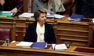 Γεροβασίλη: Δεν τέθηκε ποτέ θέμα απολύσεων
