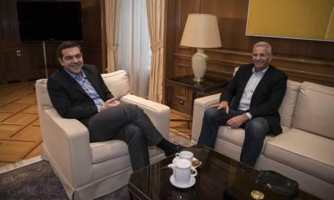 Κυπριακό: Συνάντηση Τσίπρα - Κυπριανού στο Μέγαρο Μαξίμου (pics)