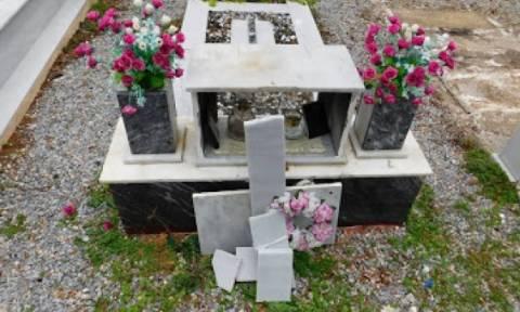 Μυτιλήνη: Πρόσφυγες διαδηλωτές βανδάλισαν νεκροταφείο