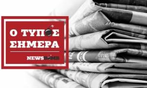 Εφημερίδες: Διαβάστε τα σημερινά (28/11/2016) πρωτοσέλιδα