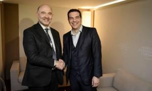 Στην Αθήνα ο Μοσκοβισί: Χαμηλές προσδοκίες για το χρέος εν όψει Eurogroup