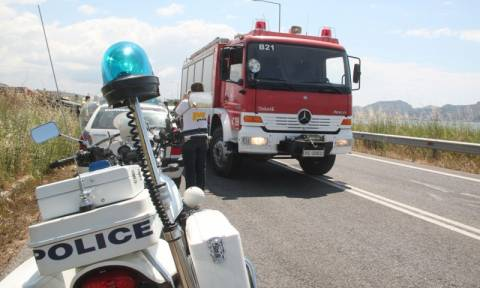 Τραγωδία στην Εθνική Οδό: Φρικτό τροχαίο με έναν νεκρό και δύο τραυματίες - Σκληρές εικόνες