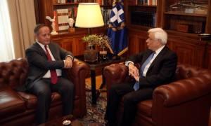 Παυλόπουλος – Κερέ: Τι συζήτησαν για αξιολόγηση και ΕΚΤ