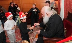 Αφιλοκερδής χριστουγεννιάτικη εκδήλωση του Κέντρου Στήριξης Οικογένειας της Αρχιεπισκοπής