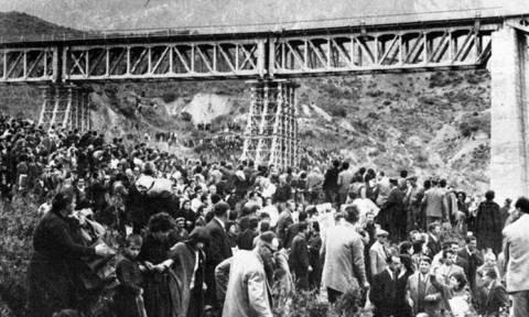 Σαν σήμερα το 1964 «πνίγεται» στο αίμα ο εορτασμός για την ανατίναξη της γέφυρας στον Γοργοπόταμο