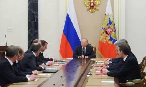 Путин обсудил с СБ РФ ситуацию в Сирии, подготовку к посланию, работу СМИ РФ за рубежом