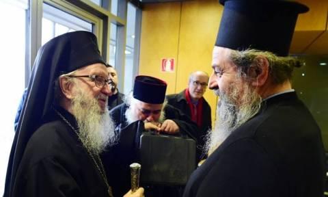 Το σπάνιο χειρόγραφο κείμενο της Καινής Διαθήκης μετέφερε ο Αρχιεπίσκοπος Αμερικής στην Ελλάδα
