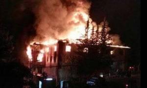 Φονική πυρκαγιά σε εστία στην Τουρκία: Μαθήτριες πηδούσαν από τα παράθυρα για να σωθούν (vids)
