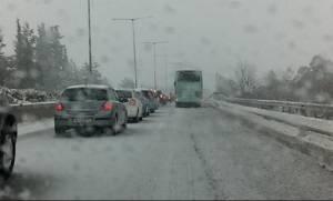 Κακοκαιρία: Εγκλωβίστηκαν οδηγοί στο δρόμο Φλώρινας – Κοζάνης