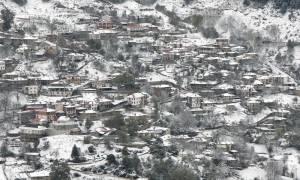Κακοκαιρία: Στους 10 πόντους το χιόνι στην Ήπειρο