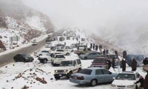 Κι όμως! Χιόνισε και στη Σαουδική Αραβία (pics+vids)