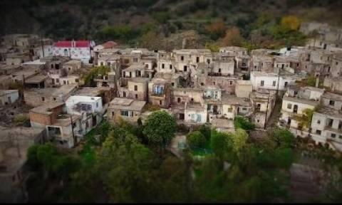 Καλάμι: Το χωριό – φάντασμα της Κρήτης που κόβει την ανάσα (video)