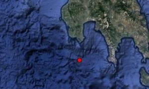 Σεισμός τώρα στη Μεσσηνία