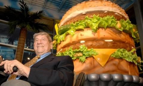 Πέθανε ο «πατέρας» του Big Mac, του πιο διάσημου μπέργκερ στον κόσμο (Vid)